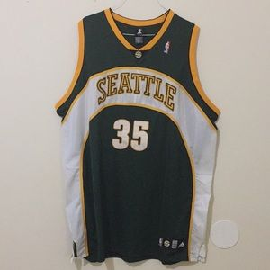 d2916d53744 NBA Shirts - 🔥Kevin Durant Seattle SuperSonics Rookie Jersey